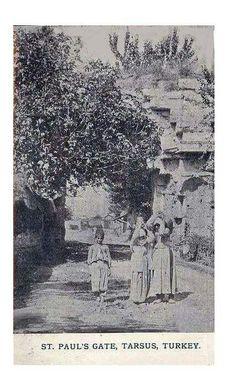 Mersin 1920 ler Tarsus Kleopatra kapısı. .