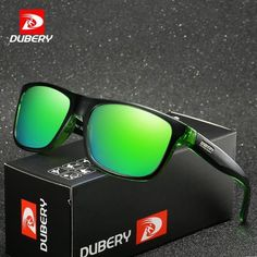 45eaf7327bcf DUBERY Brand Design Polarized HD Sunglasses Men Driving Shades Male Retro  Sun Gl