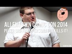 Peter Griffin Impersonator Does Stand-Up & KILLS IT!!!