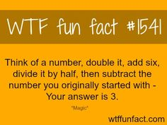 Yeah so if your number is x you would have  2x 2x+6 x+3 3