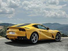 2017 Ferrari 812 Superfast - Cars and motor Bugatti, Maserati, Lamborghini, Most Expensive Ferrari, Ferrari F50, Ferrari 812 Superfast, Yellow Car, Gt Cars, Super Sport Cars