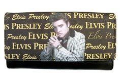GOLDEN LICENSED ELVIS PRESLEY WALLET