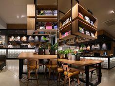 Culfe book store and café by fan-Inc, Shizuoka - Japan