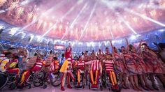 ספורט לכולם: טקס הפתיחה של המשחקים הפראלימפיים בריו  צילום: AFP