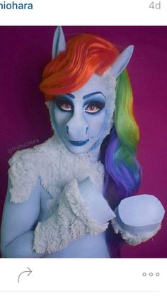 Drag Queen Phi Phi O'Hara Isn't Horsing Around When It Comes to Cosplay Cosplay Fail, Cosplay Costumes, Halloween 2019, Halloween Costumes, Halloween Ideas, Drag Race Season 4, Prosthetic Makeup, My Little Pony Pictures, Weird Fashion