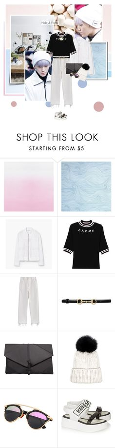 """Hide & Freak"" by bibibaubau ❤ liked on Polyvore featuring MANGO, Rachel Comey, Gucci, Eugenia Kim, Kenzo and Marni"