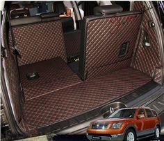 AA Auto Trunk Mats For KIA Borrego 7seats Trunk+back Seat Mats Durable Waterproof Carpets for Borrego 7 Seats Lagguge Pad #Affiliate