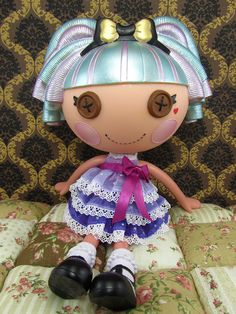 New Lalaloopsy Dolls Coming Soon | Former Misty Mysterious [hair, eyes and cheeks repainted],