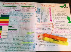 Notes dont always ve to be perfectly neat and symmetrical be effective and pretty :D College Life, Uni Life, Keep Calm And Study, Back To School, Med School, Study Hard, Study Inspiration, School Notes, Writing