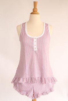 Women's Pajama Short Set