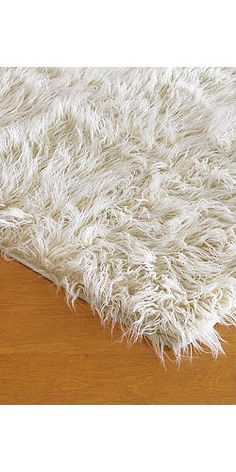 I pinned this Faux Mongolian Lamb Rug in Ivory from the Fabulous Furs event at Joss and Main!