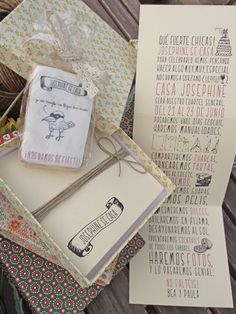 Invitation box by Mr Wonderful