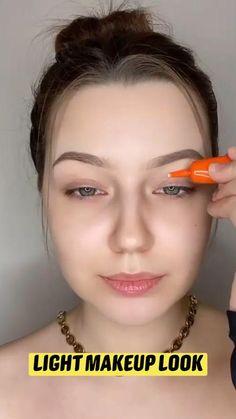 Light Makeup Looks, Makeup Eye Looks, Pretty Makeup, Minimal Makeup, Simple Makeup, Natural Makeup, 70s Makeup, Glam Makeup Look, Contour Makeup