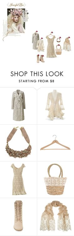 """""""+ Graceful Lace"""" by kellymailinglist ❤ liked on Polyvore featuring Nina, Tantra, Timberland, Valentino, plussize and lacedress"""