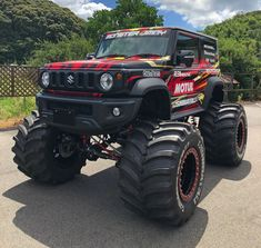 Jimny Sierra, Jimny Suzuki, Car Supplies, Mini Trucks, Cars And Motorcycles, Luxury Cars, Cool Cars, Dream Cars, Monster Trucks