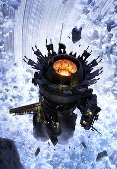 ArtStation - Ring Miners 02, Fred Gambino