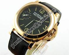MARINA MILITARE 44MM GOLD MECHANICALl LUXURY Swan - 44mm Marina Militare - Parnis watch station