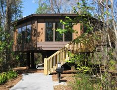I would love to stay in one of these Disney Treehouse Villas at Saratoga Springs Resort.