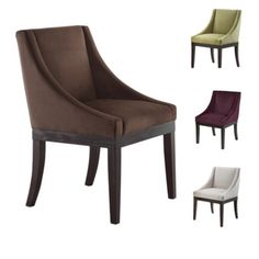 Shop for Monarch Velvet Solid Wood Legs Wingback Chair. Get free shipping at Overstock.com - Your Online Furniture Outlet Store! Get 5% in rewards with Club O!