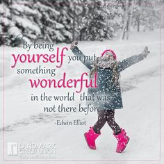 "There is only one ""you"". Always be yourself. #motivation #motivationalquotes #inspiration #inspirationalquotes #quotes #winter #wonderful"