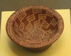 An Egyptian Predynastic Naqada IIA Painted Pottery Bowl   by Ancient Art & Numismatics