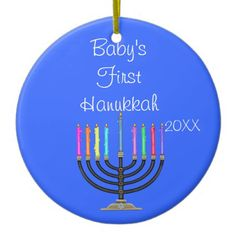 BABY'S FIRST HANUKKAH Ornament