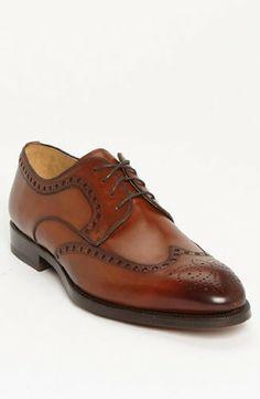 Magnanni Mens Catania Cognac Dress Shoes Magnanni
