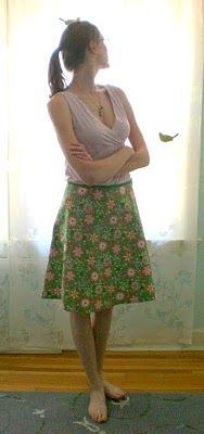 Skirt pattern calculator
