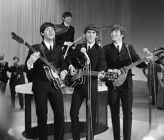 The Beatles. My favorite band of all time. Yes, I know I was totally born in the wrong decade.