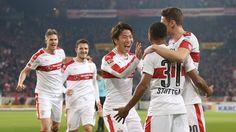 Der VfB schlägt Fortuna Düsseldorf in der Mercedes-Benz Arena mit 2:0 und rückt an die Tabellenspitze vor.