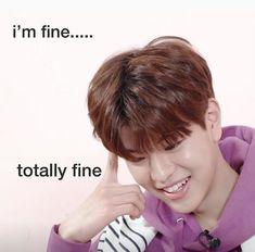 Bts Memes, Funny Kpop Memes, Funny Relatable Memes, K Pop, Stupid Pictures, Stray Kids Seungmin, Mood Pics, Wholesome Memes, Meme Faces