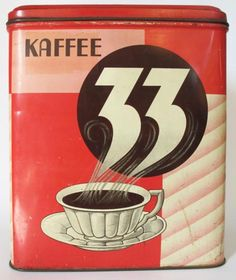 33 Coffee Making Signs, How To Make Signs, Coffee Stands, Coffee Tin, Vintage Tins, Vintage Coffee, Antique Coffee Grinder, Coffea Arabica, Bread Boxes