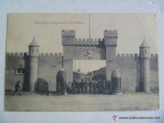 Postales: GUERRA DE AFRICA : POSTAL COMANDANCIA DE ARTILLERIA DE MELILLA , 1921 - Foto 1 - 54827204
