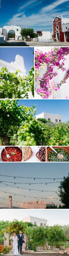 Wedding venue: Masseria Torre Coccaro - Apulia, Italy. Photo: www.aberrazionicromatiche.com #countrychicwedding #weddinginitaly #apulianwedding