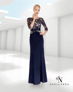 Official website of fashion designer Sonia Peña. Here you will see proposals for party dresses, evening and cocktail; short dresses, evening dresses and wedding. Evening Outfits, Evening Dresses, Short Dresses, Prom Dresses, Formal Dresses, Chiffon Dress, Mother Of The Bride, Salons, Party Dress