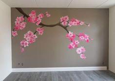 muurschildering wookamer