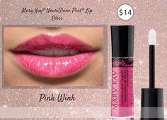NEW! PINK Wink lip gloss! http://www.marykay.com/brookeramsey/en-US/Makeup/Lips/Lip-Gloss/Mary-Kay-NouriShine-Plus-Lip-Gloss/Pink-Wink/