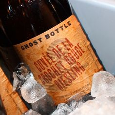 This beer does not exist! Another Ghost Bottle from the Brooklyn Brewery team    #nycbeerweek #brewerschoice
