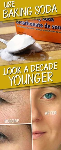 Look A Decade Younger With Baking Soda