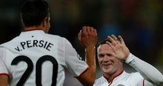 RvP paid tribute to Wayne after victory over Cluj