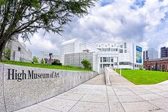 Sold a 20x30 metal print of Atlanta's High Museum to a buyer from Atlanta, GA
