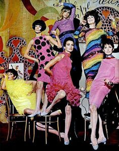 Mode Pop - Pierre Cardin - 1965