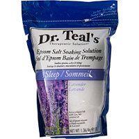 Dr Teals - Lavender Epsom Salt - I love this stuff. Great for foot soaks. Epsom Salt For Hair, Salt Hair, Best Bath Salts, Epsom Salt Cleanse, Epsom Salt Foot Soak, Metallic Eyeshadow Palette, Nail Polish, Homemade Skin Care, Sleep