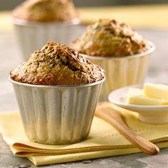 All-Bran® - Muffins citron et graines de pavot avec glaçage au citron