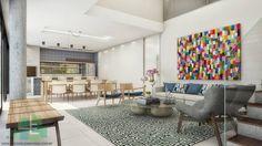 Salas de estar, jantar e gourmet integrados na Residência WW.  Projeto Studio Elementare.  #elementare @vanorfernandes @amandagayotto @raisamak  #projeto #arquiteta #arquiteturabr #homedecor #casa #homedesign #arquitetura #arquiteturadeinteriores #arquiteturaedesign #decor #arquiteturabrasileira #decoração #decoracao #interiores #interiordesign #interiorismo #architecture #arquitectura #3D #sketchup #3dsmax #vray #vrayrender #photoshop #instarender #archviz #instadecor #livingroom #sala