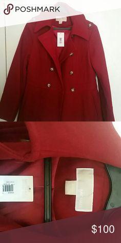 Michael kors wool pea coat Brand new never worn Michael kors pea coat Michael Kors Jackets & Coats Pea Coats