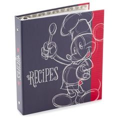 Disney Mickey Mouse Recipe Book