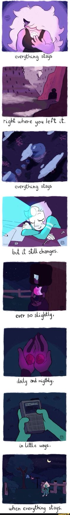 Awesome way to put an Adventure Time song in Steven Universe. I especially love this song.