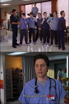 You seem unhappy. I like that. Scrubs Quotes, Scrubs Tv Shows, Sacred Heart Hospital, Movies And Tv Shows, Superman, Movie Tv, Tv Series, Fangirl, Hilarious