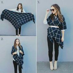 Descubre las diferentes maneras de utilizar tu #bufanda en esta temporada de frío.